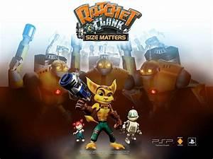 Wallpapers Ratchet Clank Size Matters PSP Ratchet