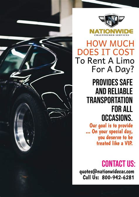 Rent A Limo For A Day by How Much Does It Cost To Rent A Limo For A Day