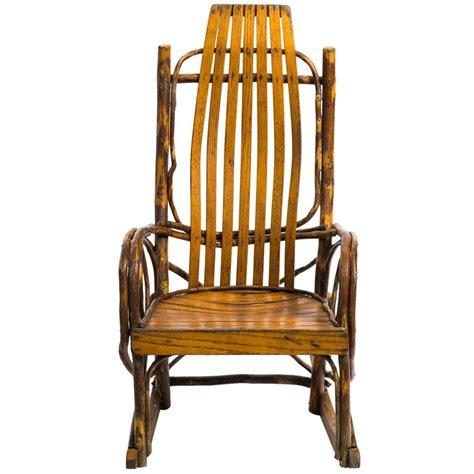 children s adirondack bentwood oak hickory rocking chair