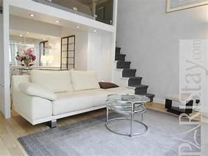 Studio Mezzanine Paris : studio mezzanine long term rent apartment in paris parc ~ Zukunftsfamilie.com Idées de Décoration
