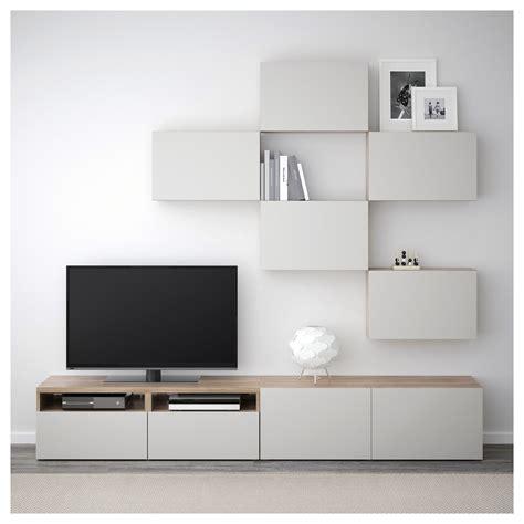 Ikea Besta Canada by Ikea Best 197 Tv Storage Combination Walnut Effect Light