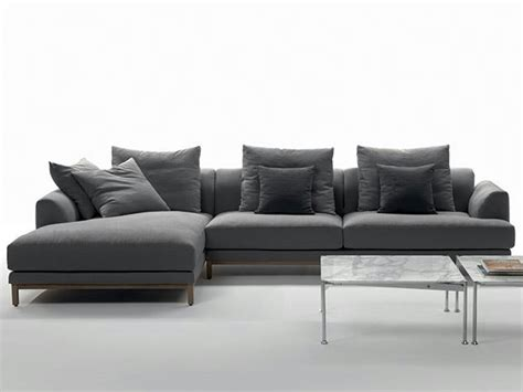 Fabric Sofa With Chaise Longue Vivaldi Collection By Marac
