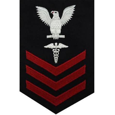 usn   blue hospital corpsman rating badge vanguard