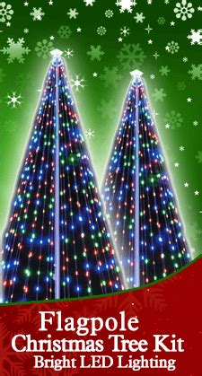 featuring  flagpole christmas tree kit  christmas