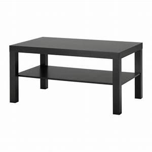 Lack Tavolino - Marrone-nero