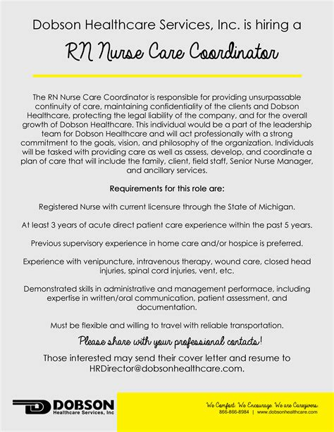 Rn Patient Care Coordinator Description by Home Care Coordinator Cover Letter Chef Manager Cover