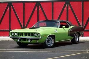 Plymouth Barracuda    Cuda Sub Lime Green With 50 Miles