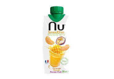 Smūtijs NU apelsīnu,mango, marak. 330ml