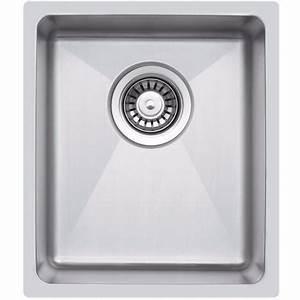 Petit évier Cuisine : petit vier de cuisine inox sous plan 1 bac la016 cuve simple ~ Preciouscoupons.com Idées de Décoration
