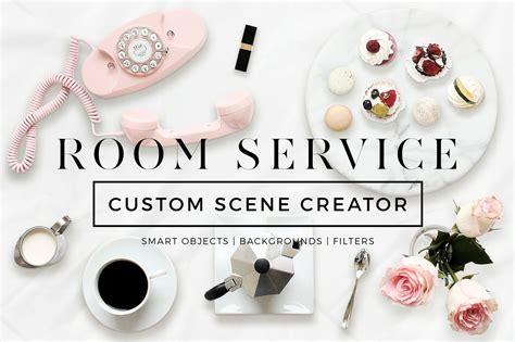 Creator Services by Custom Creator Room Service Creator Mockups