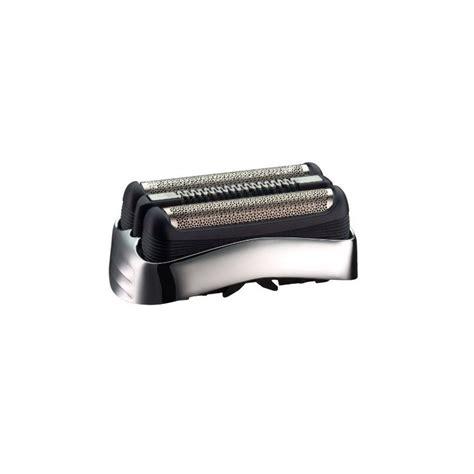 grille rasoir braun serie 3 cassette grille couteau 32s gris argent rasoir braun serie