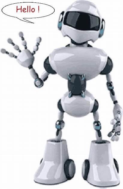 Robots Ageheureux Parlent Ce