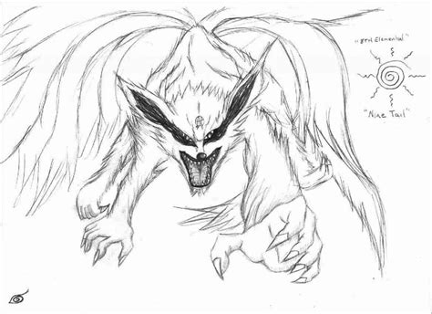 Nine Tailed Demon Fox By Lord-seth On Deviantart