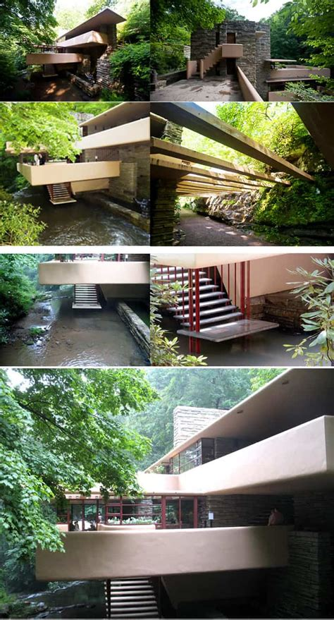 fallingwater house  frank lloyd wright video