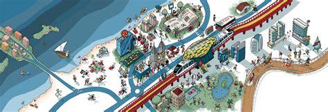 Dubai Internet City - Dubai Metro Illustrations