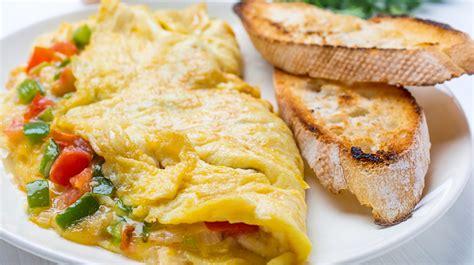 cuisiner le poivron vert recette facile omelette aux poivrons