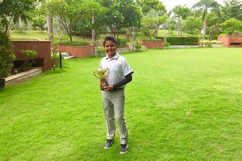 Golf: 10-year-old Aryaman creates history - myKhel