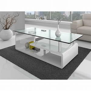 Plateau De Table En Verre : soldes salon table basse plateau verre comforium ~ Teatrodelosmanantiales.com Idées de Décoration