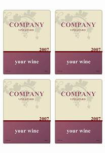 wine label template personilize your own wine labels With printable wine labels free templates
