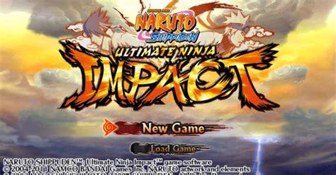naruto ultimate ninja impact usa ulus  cwcheat psp