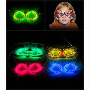 Neon Glow Mask Perfect Product for this New Year Party
