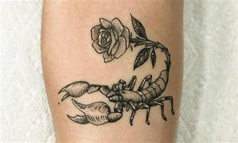 tatuajes de escorpiones con rosas recopilaci 243 n de dise 241 os