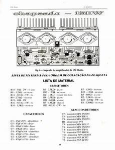 Amplificador De 90 W E 150w