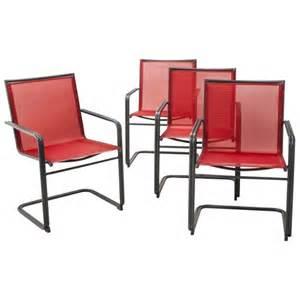 upton 4 piece metal patio dining chair set thr target