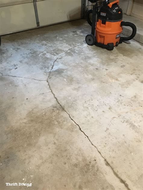 garage floor paint drying how to paint garage floors with 1 part epoxy paint