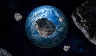 2016 Asteroid Hit Earth