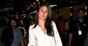 Kareena Kapoor without Makeup at the Airport