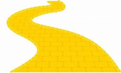 Brick Road Yellow Oz Wizard Clipart Journey
