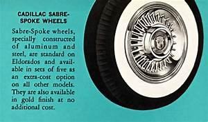 1956 Eldorado Biarritz Survivor Roster  The Cadillac Sabre Wheel