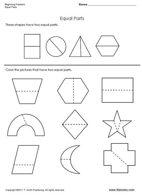 fractions shade halves and quarters worksheets