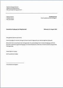 Vorzeitige Kündigung Mietvertrag : k ndigung mitgliedschaft vorlage text word pdf ~ Lizthompson.info Haus und Dekorationen