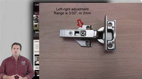 how to adjust hinges on kitchen cabinets how to adjust blum hinges to align cabinet doors 9286