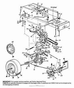 Mtd 13ah660f022  1999  Parts Diagram For Frame  Drive  Wheels  Rear