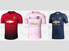 Manchester United revealed their away kit for 201819