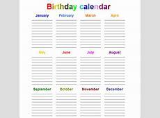 Perpetual Calendar Calendar Template Free & Premium