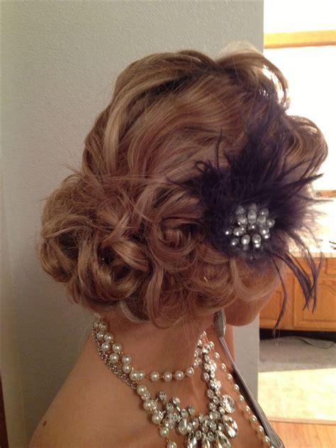 vintage  updo beauty  wedding hair