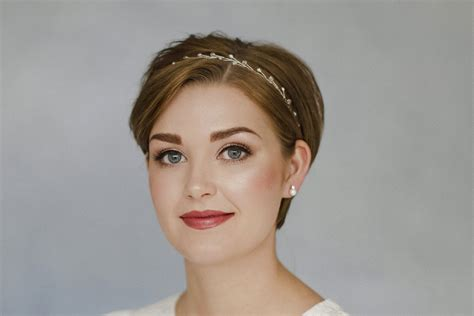 short hair wedding inspiration for brides of all styles