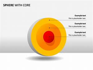 Powerpoint Slide - Concentric Spheres Diagram - 3d