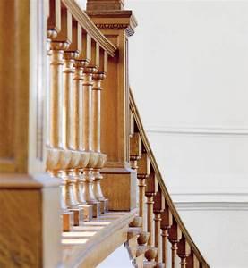 Renovation D Escalier En Bois : rampe d 39 escalier les conseils de r novation marie claire ~ Premium-room.com Idées de Décoration