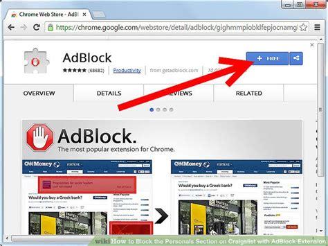 block  personals section  craigslist