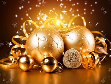 gold  year christmas wallpapers hd desktop