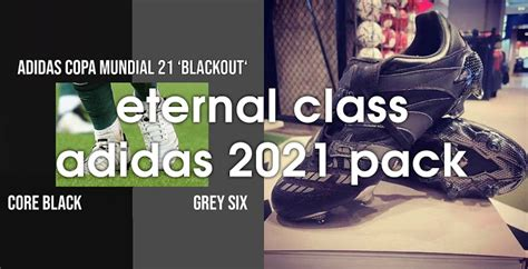 Adidas 2021 'Eternal Class' Boots Pack Leaked - Stealth ...