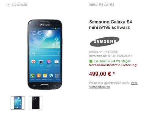 samsung galaxy s4 kaufen samsung galaxy s4 mini ab sofort in deutschland zu kaufen