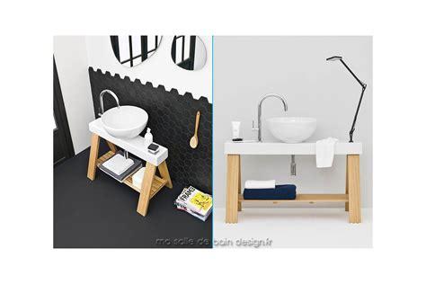 meuble salle de bain avec vasque posee hauteur meuble salle de bain avec vasque pos 233 e chaios