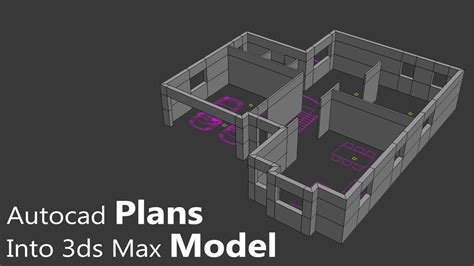 Import 2D plans into 3D application the right way - Arch