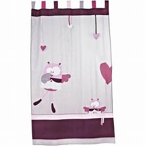 Rideau Occultant Chambre Enfant : rideau chambre bebe fille ~ Melissatoandfro.com Idées de Décoration